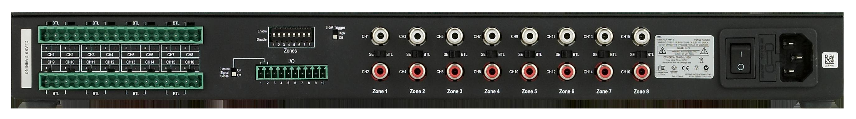 ALR-AMP-8 - Rear