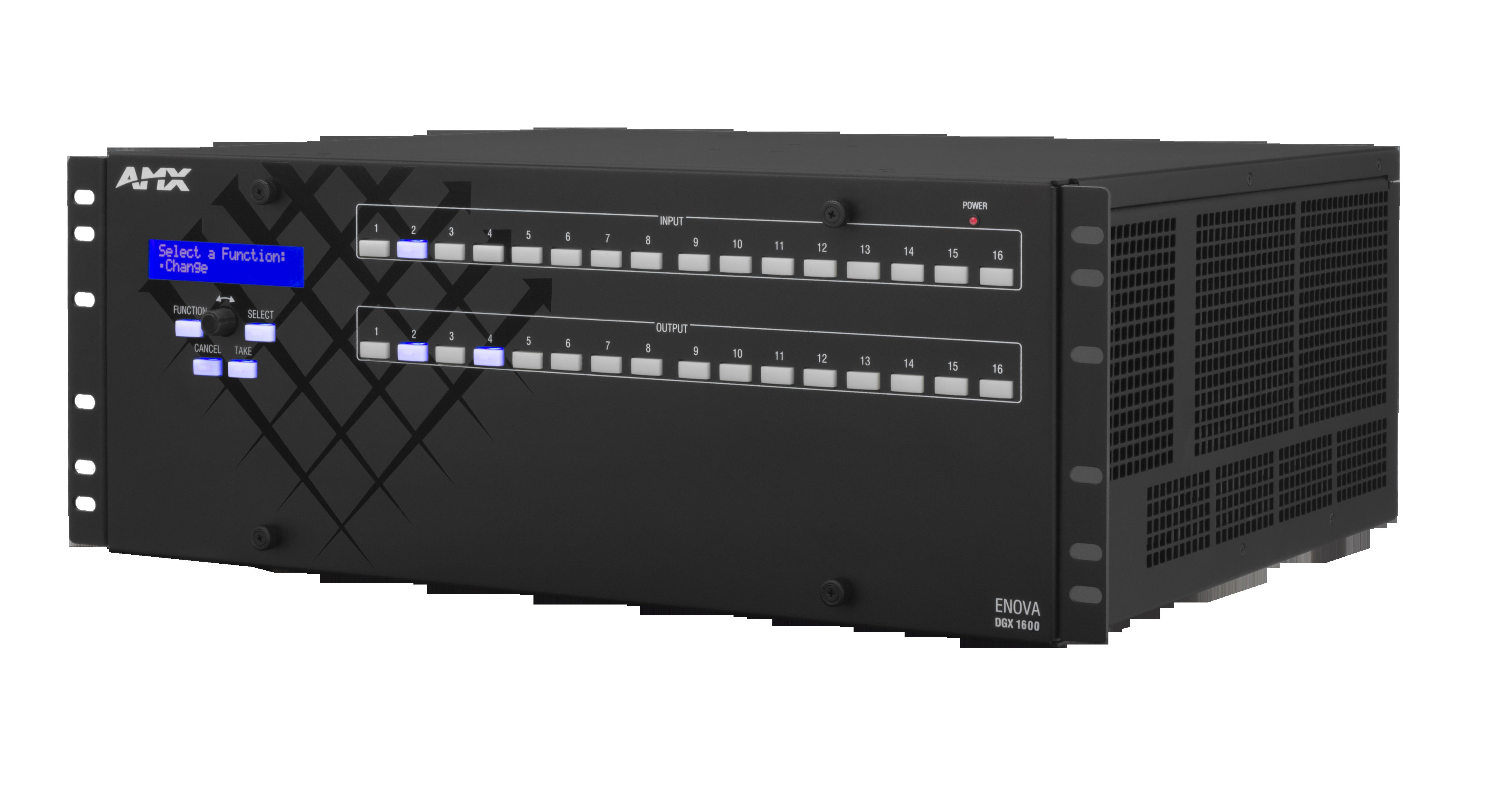 DGX1600-ENC - Front Left
