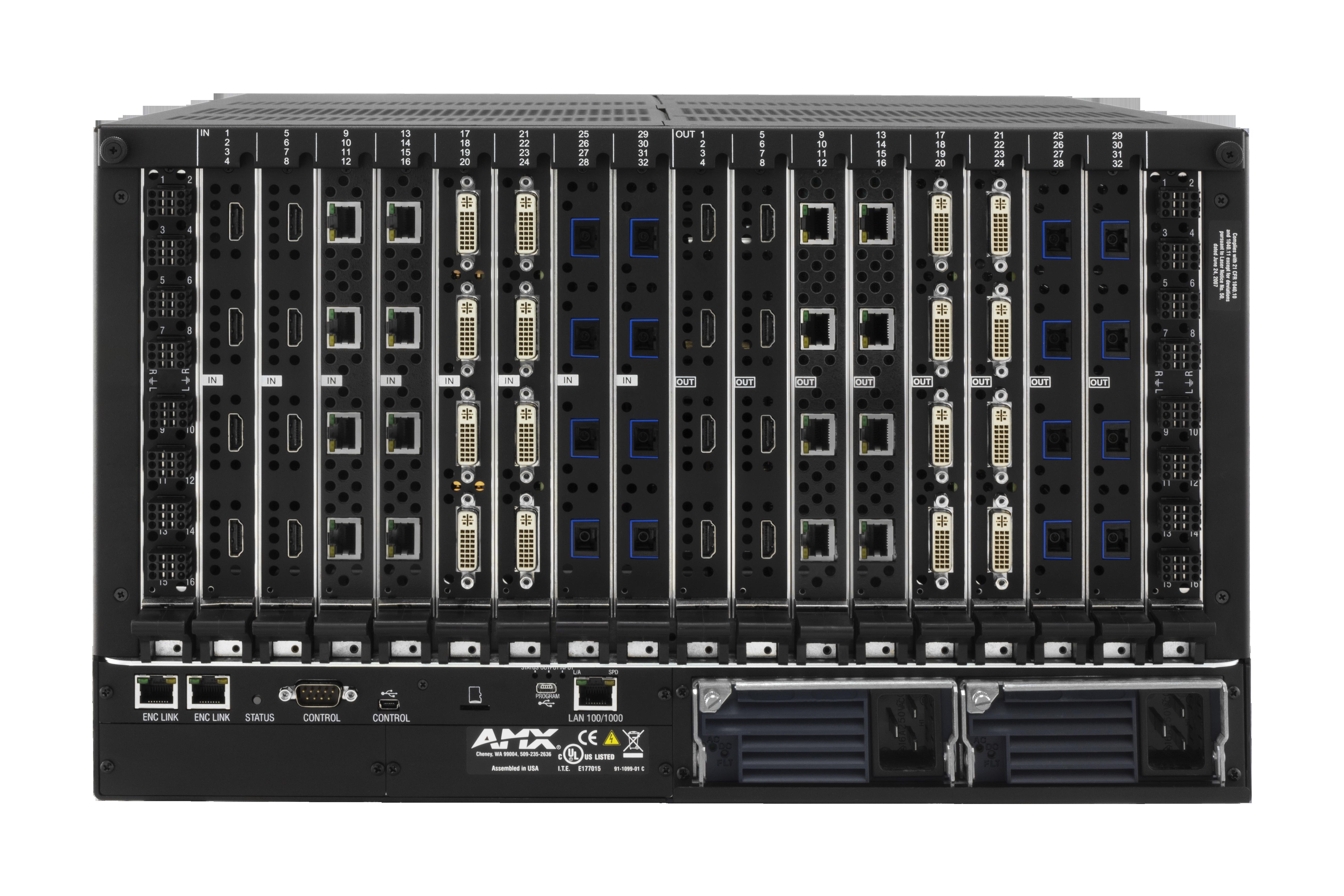 DGX32-ENC-A - Rear