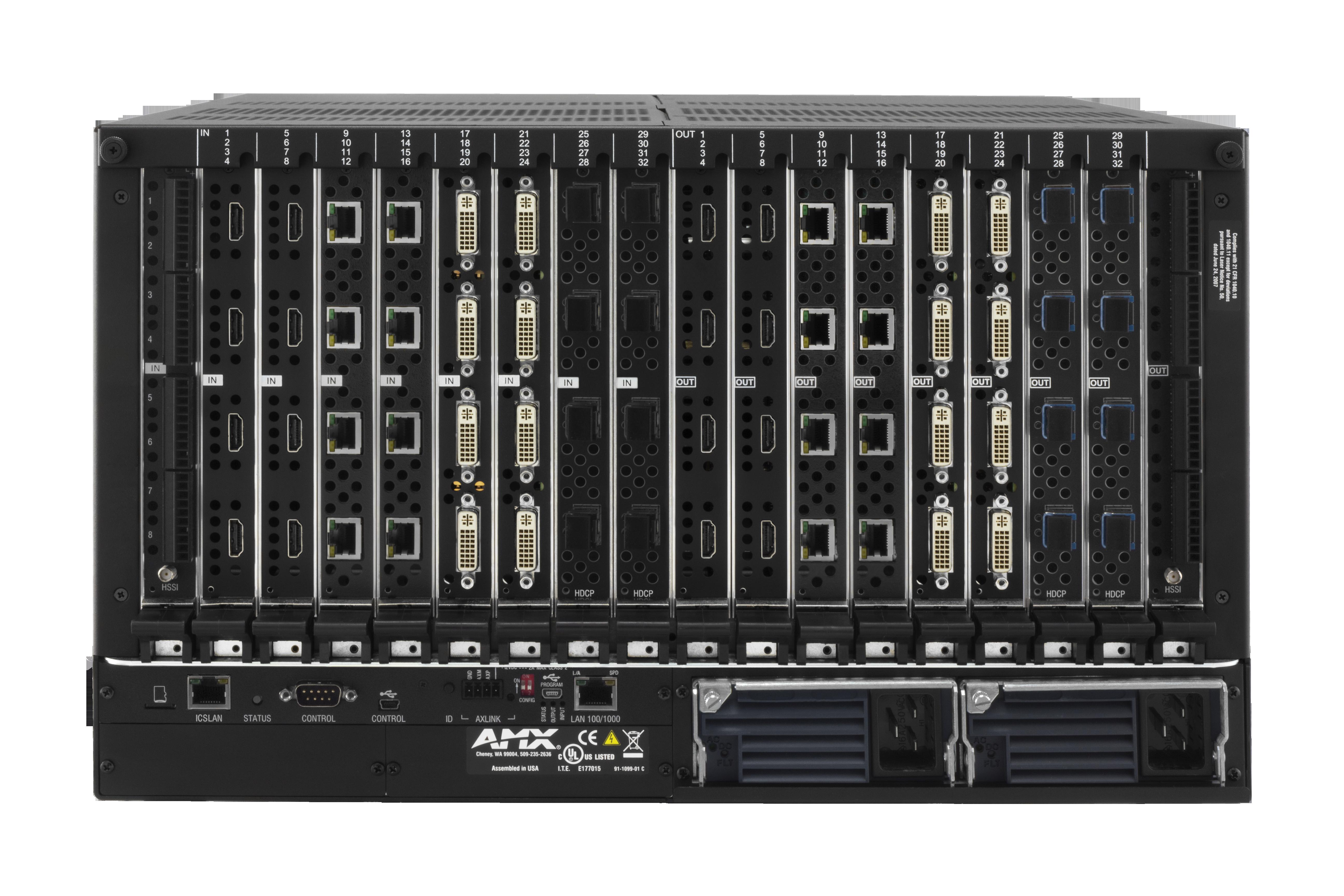DGX3200-ENC - Rear
