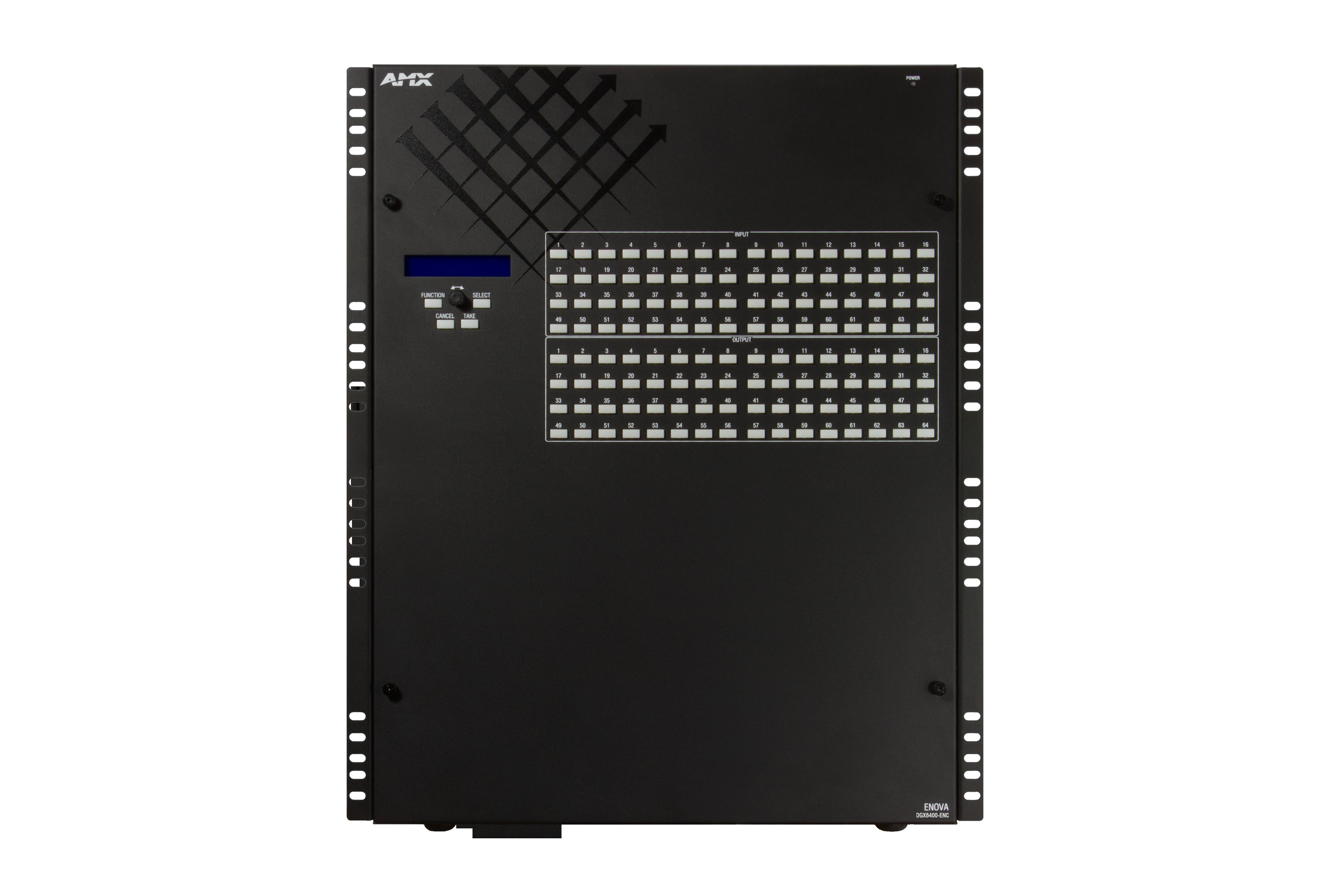 DGX6400-ENC - Front