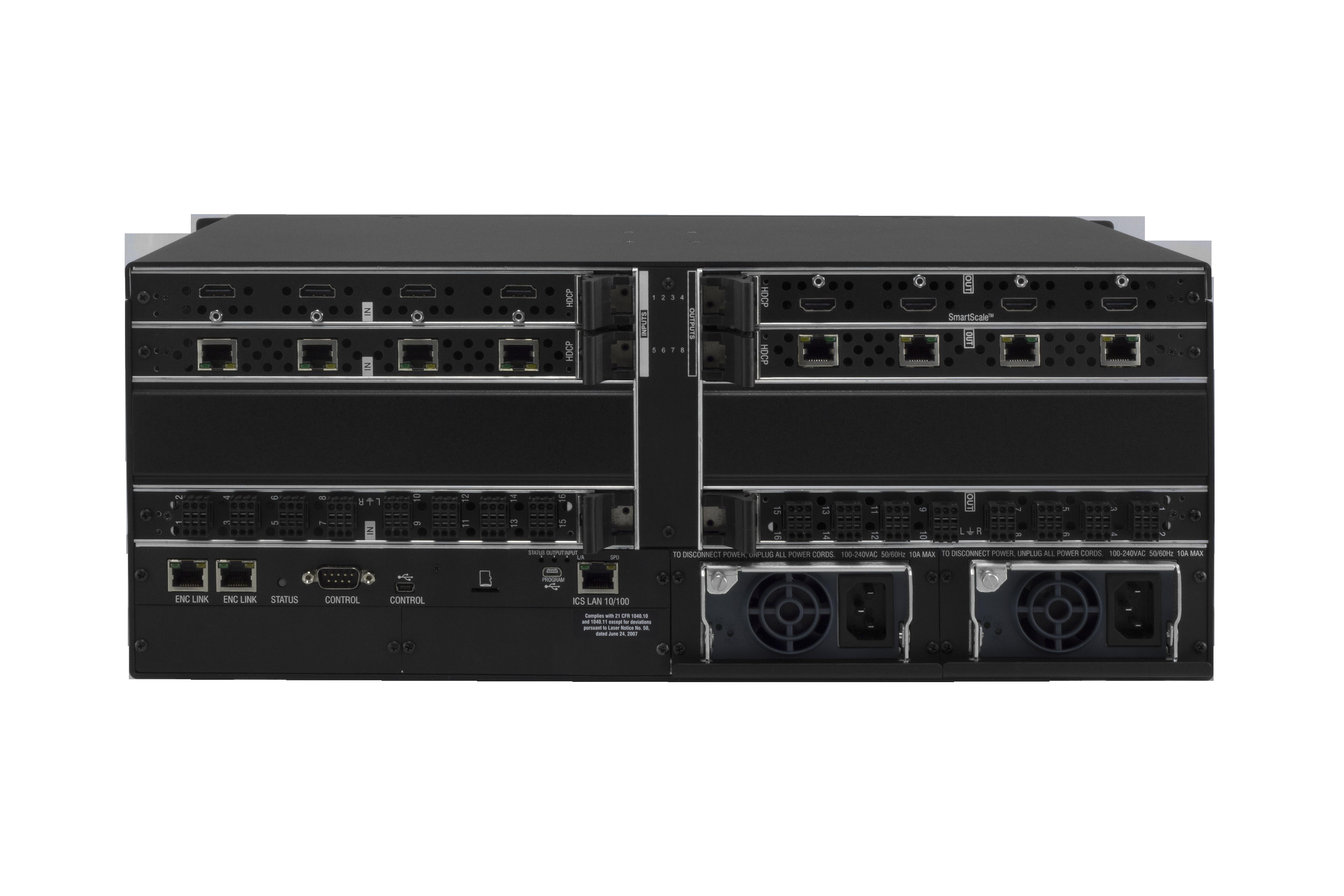 DGX8-ENC - Rear