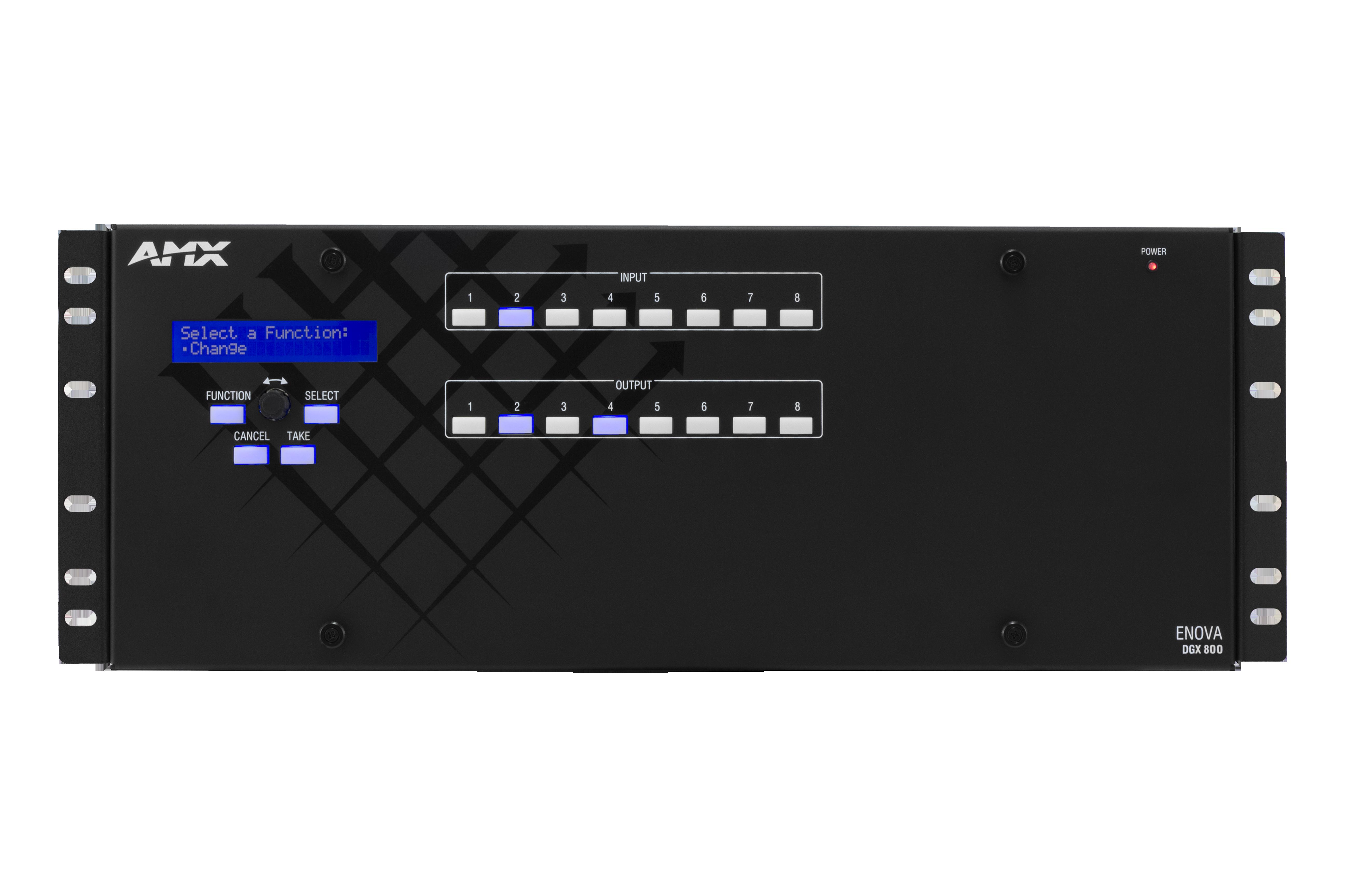 DGX800-ENC - Front Straight