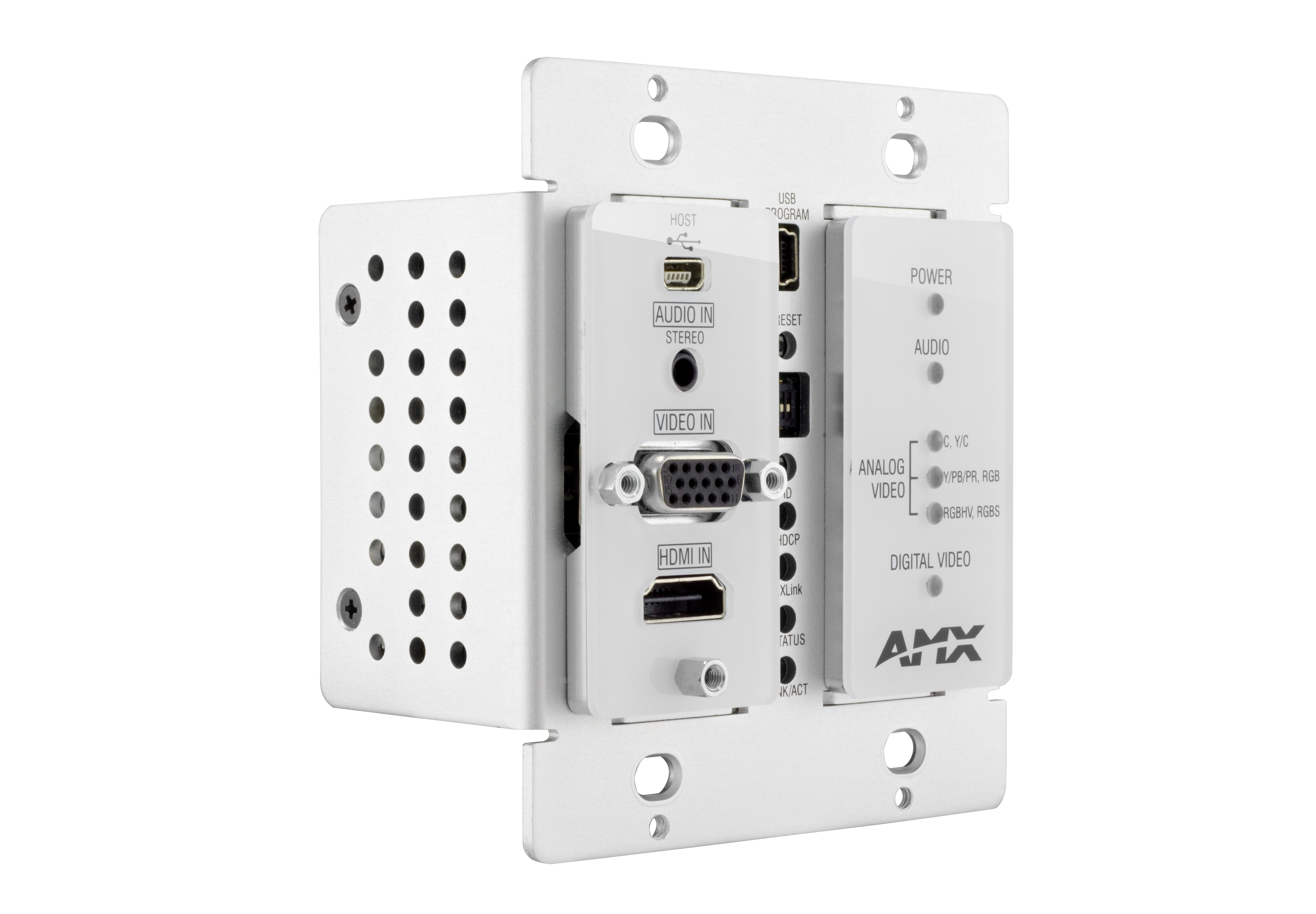 DX-TX-DWP - White Front Right