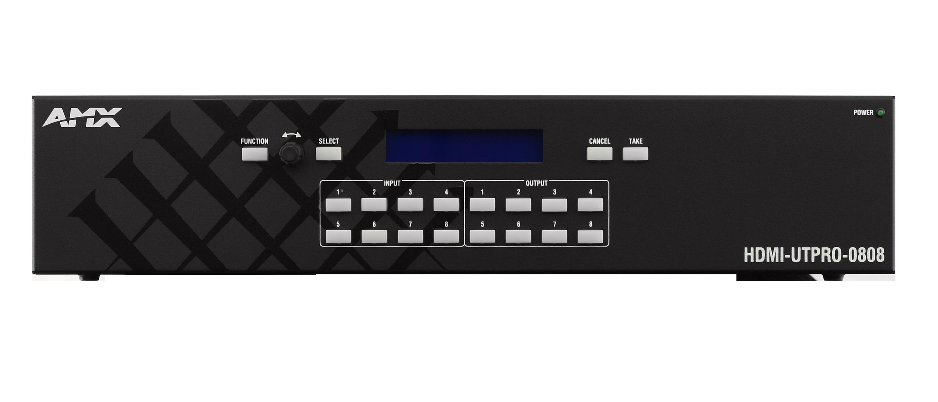 HDMI-UTPRO-0808 Front