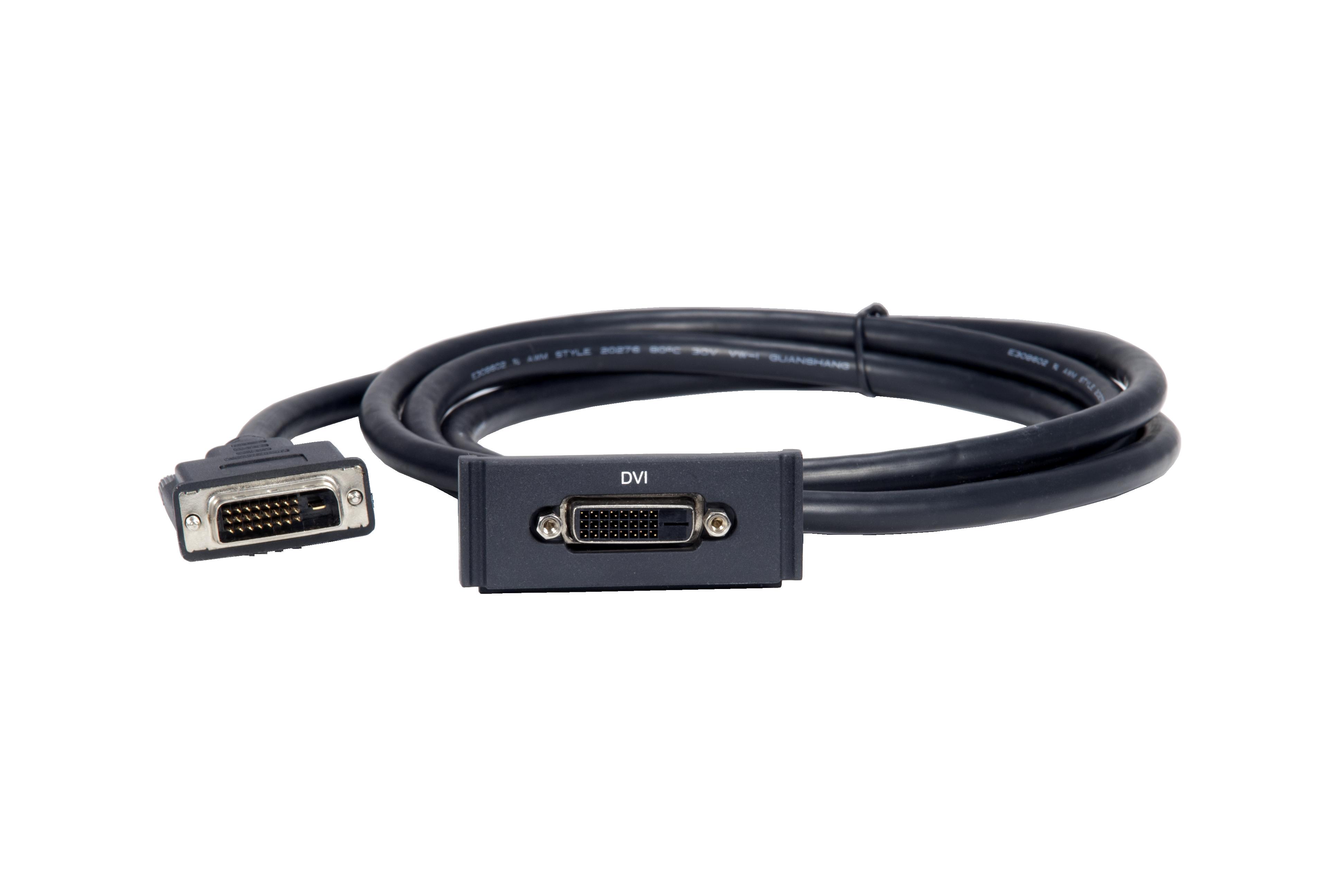 HPX-AV101-DVI Showing Cable