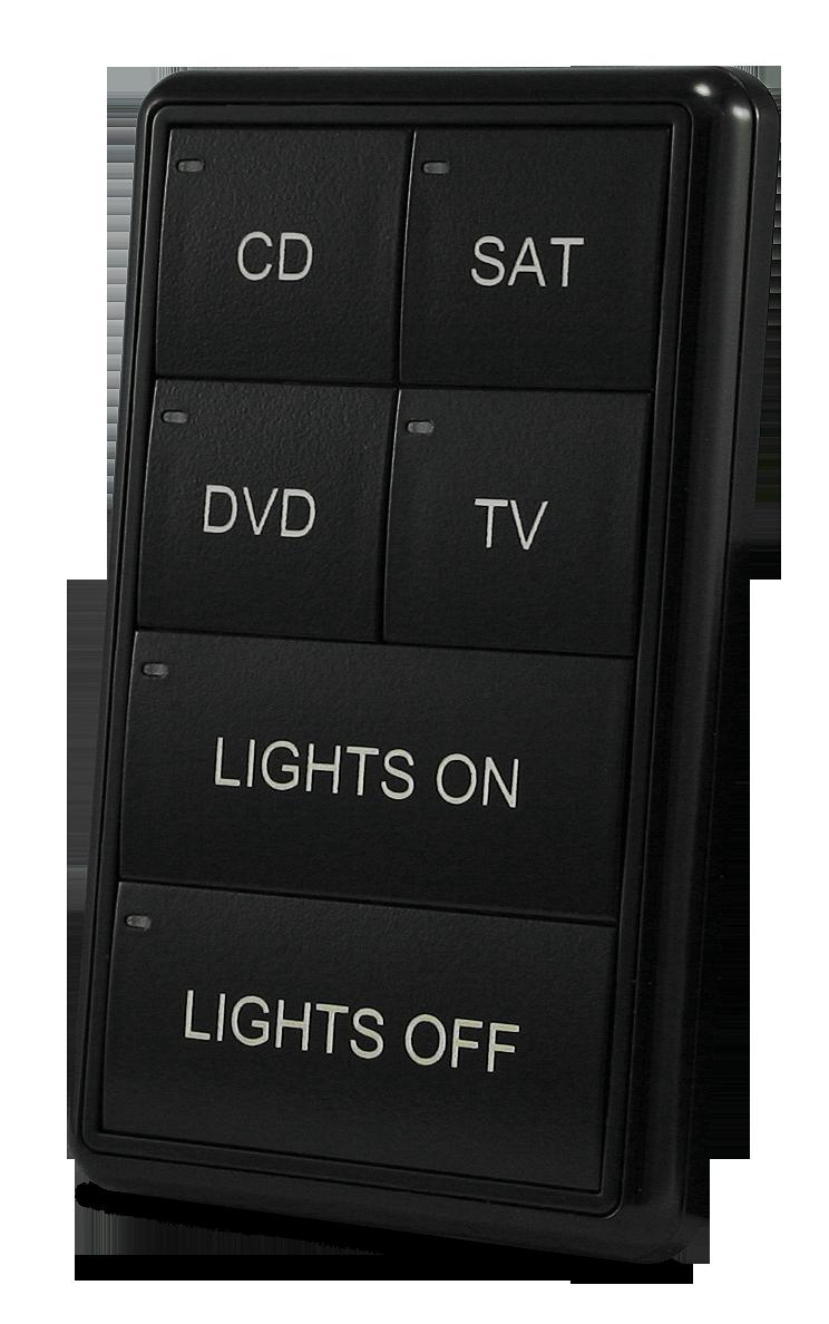 MIO-CLASSIC-S Keypad - Black (Left)