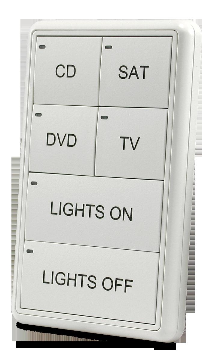 MIO-CLASSIC-S Keypad - White (Left)