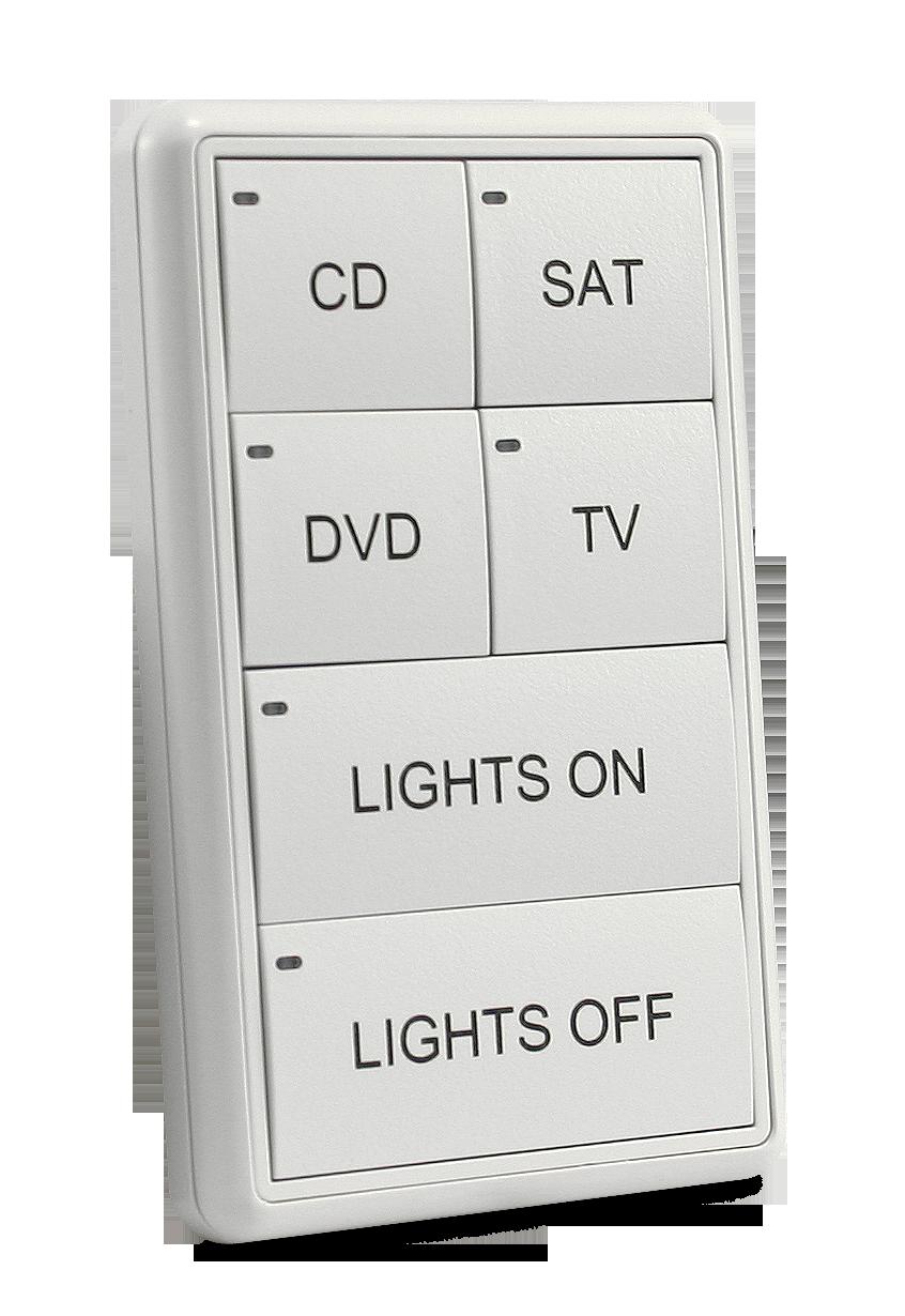 MIO-CLASSIC-S Keypad - White (Right)